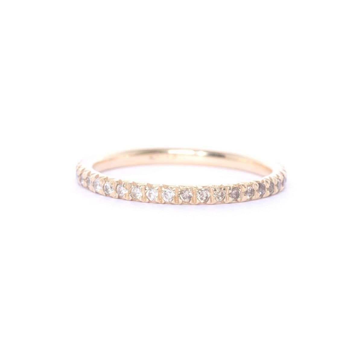 Gold & Diamond Eternity Ring