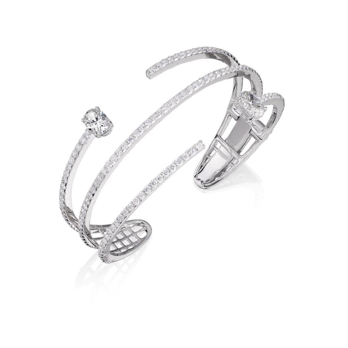 18kt White Gold Mode Bracelet l