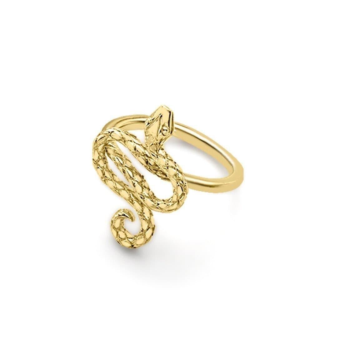 Kew Serpent Yellow Gold Ring