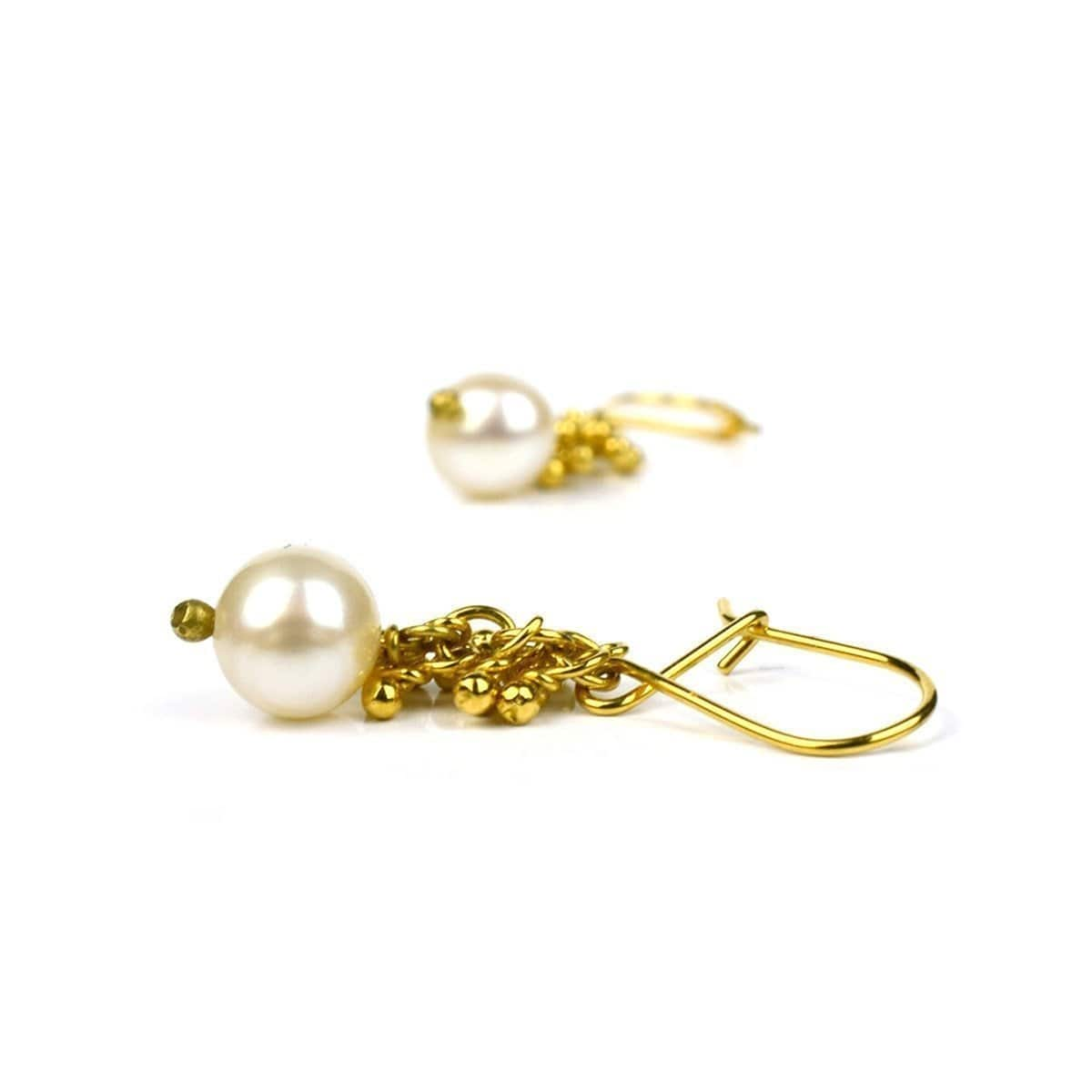 Lustre Pearl Earrings