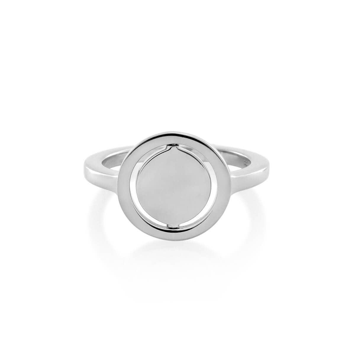 Sterling Silver Turn Around Spinner Ring