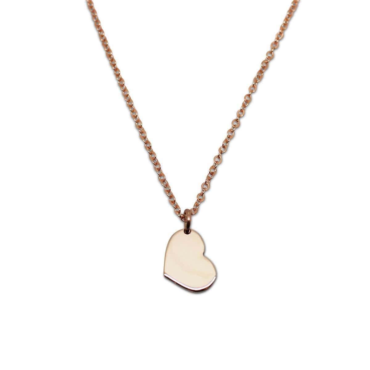 9kt Yellow Gold Little Heart Necklace