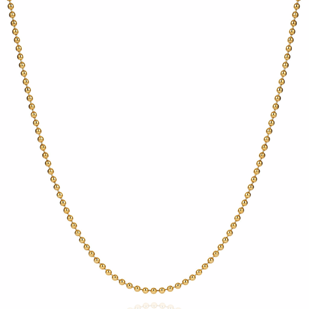 Necklace Chain Yellow Gold Plated