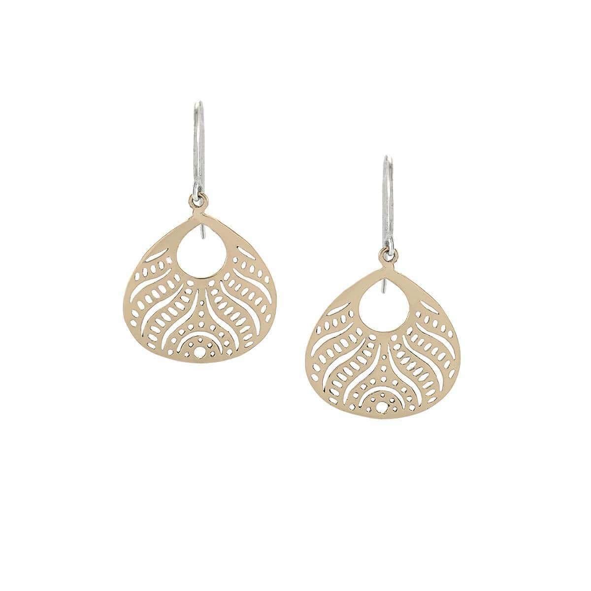 Abundance - Small Bronze Beauty From Within Earrings