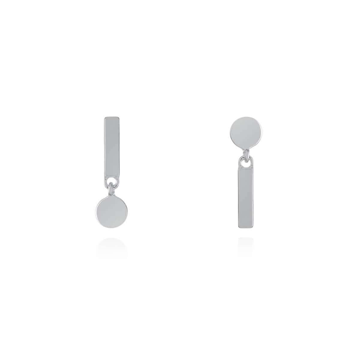 Sterling Silver Flip Reverse Earrings