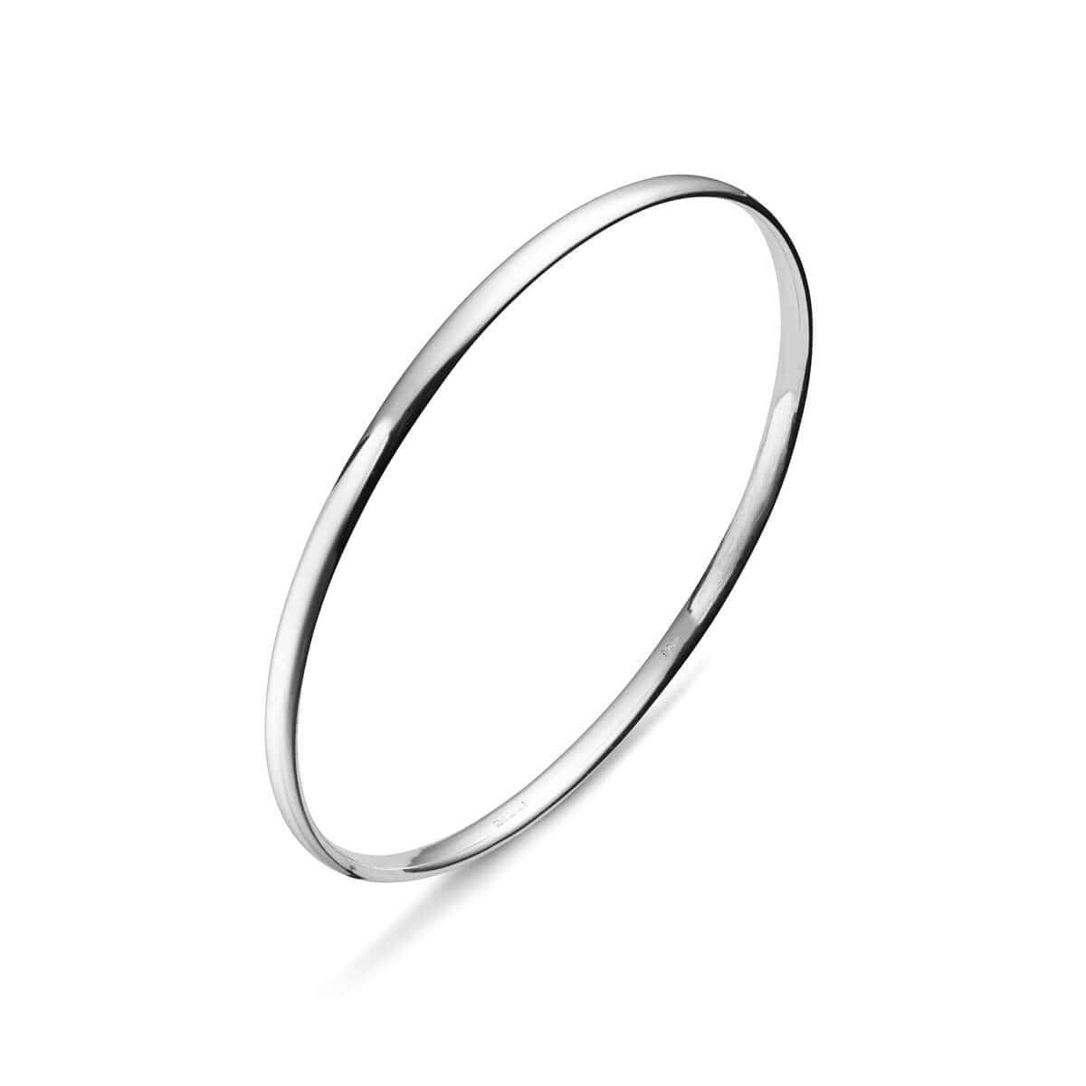 Sterling Silver Classic Bangle