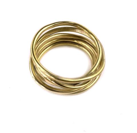 Fran Regan stacked rings
