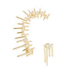 Nails Ear-Cuff by Joanna Laura Constantine