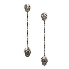 Twin Skull Earrings by Stefere
