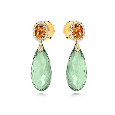Tivon Monte Carlo Earrings