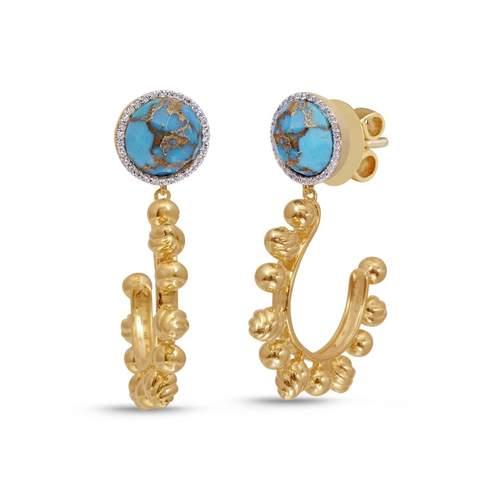 LuvMyJewelry turquoise earrings