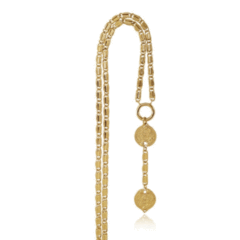 14kt Gold Plated Karshapana Necklace