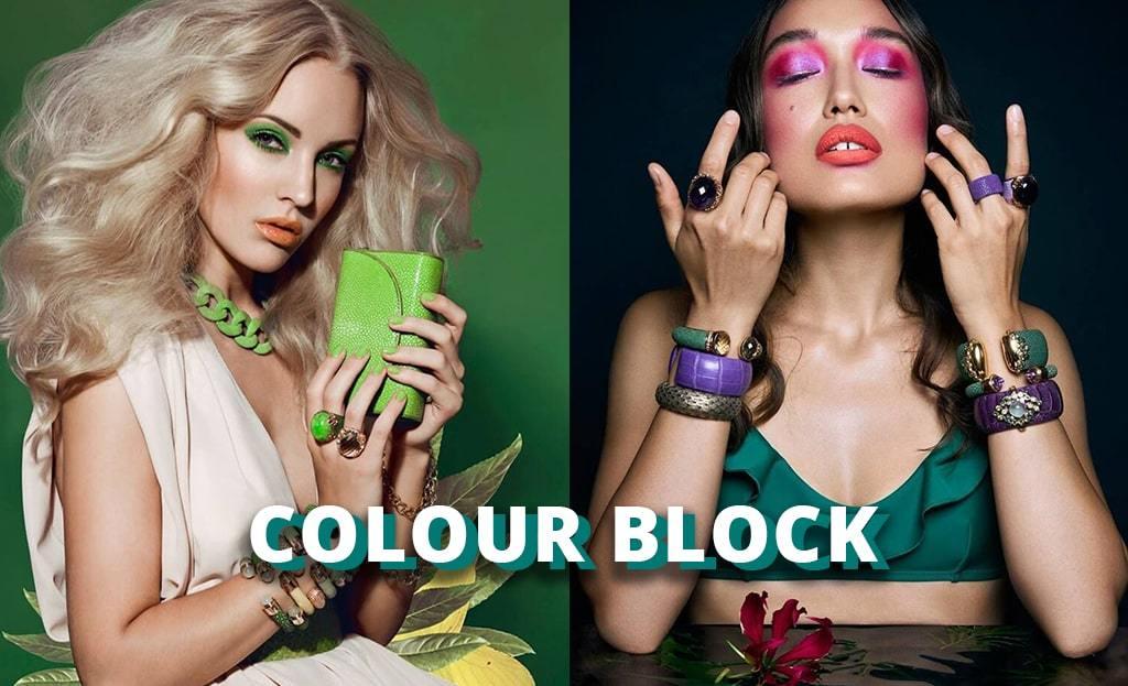 A lesson in colour blocking