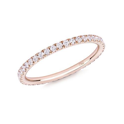 R03 Diamond 18ct Rose Gold Ring