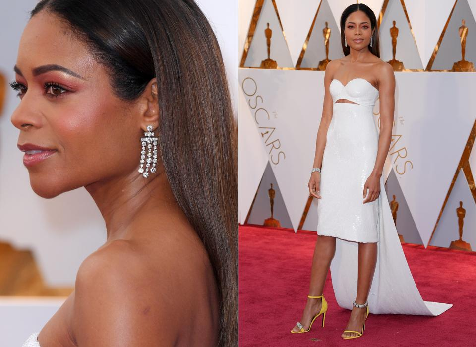 BEST DRESSED ON THE RED CARPET OSCARS 2017 naomie harris