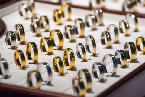 Mass produced jewellery