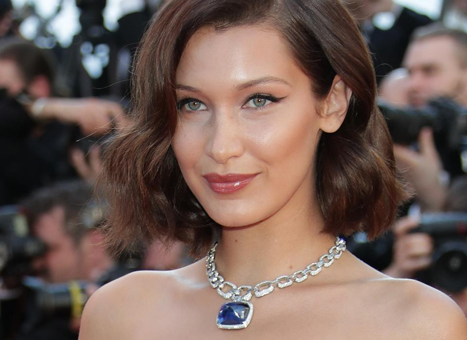 Mandatory Credit: Photo by Canio Romaniello/SilverHub/REX/Shutterstock (8823593am) Bella Hadid 'Ismael's Ghosts' premiere and opening ceremony, 70th Cannes Film Festival, France - 17 May 2017