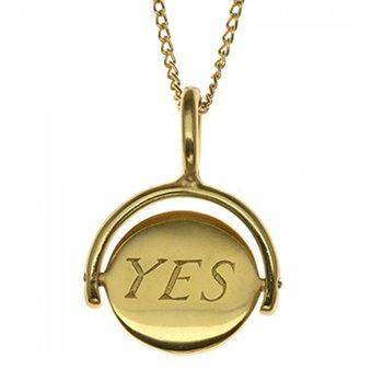 yes no necklace