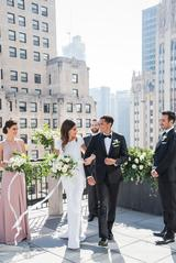 Dressing for a rooftop wedding