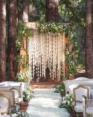Dressing for a woodland wedding