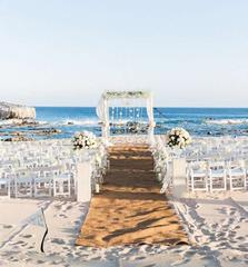Dressing for a beach wedding