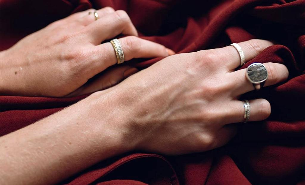 Silver Simple Band | L. SHOFF