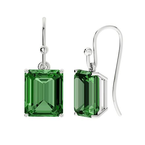 stylerocks-emerald-cut-emerald-silver-drop-earrings