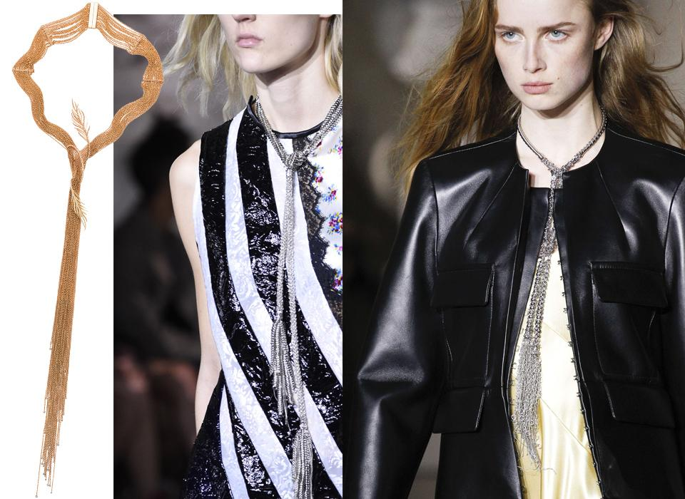 FAVOURITE JEWELLERY LOOKS AT FASHION WEEK AW17 1