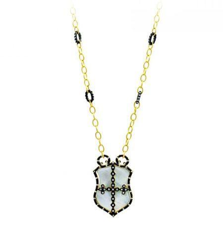 Metropolitan Shield Necklace