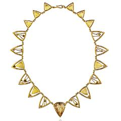 14734 Golden Sun Necklace