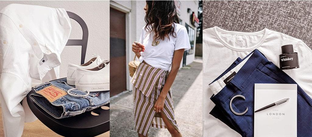 How To Dress Up Your Basic Casual T-Shirt