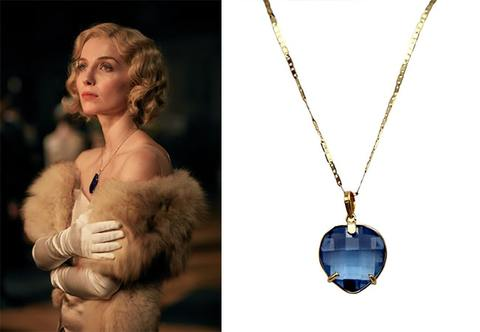 Peaky Blinders Grace sapphire necklace