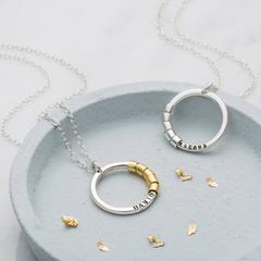 Personalised Secret Names Necklace