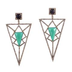 HOW TO ROCK STATEMENT EARRINGS 2