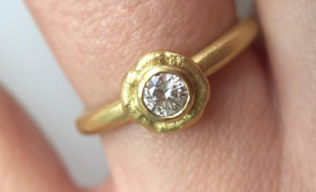 Gold Aura Ring
