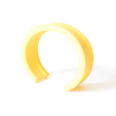 MyCity Tehran Thin Cuff In Yellow
