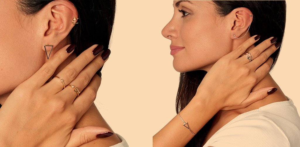 How to style an Ear Cuff and Ear Climber
