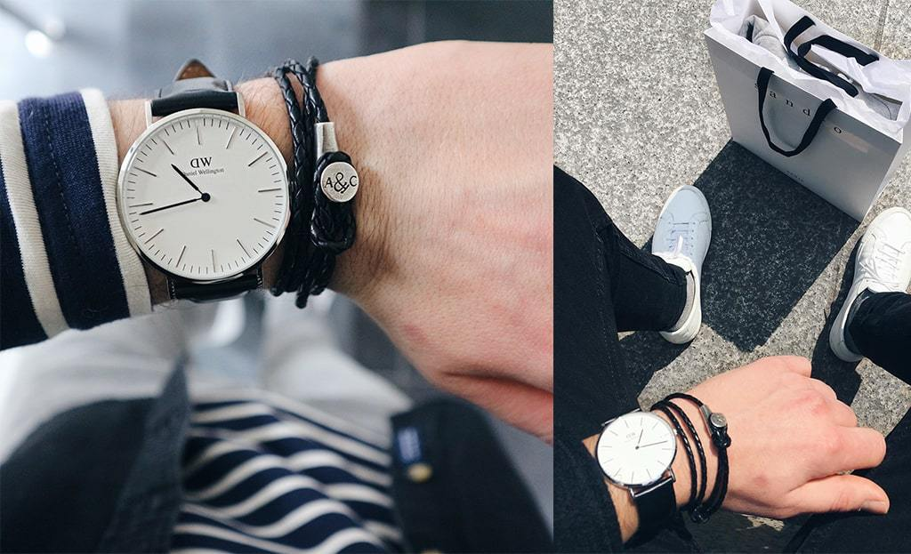 How to style jewellery with a watch