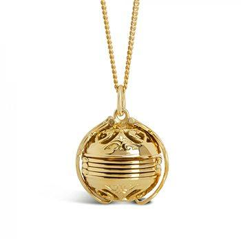 Gold Memory Keeper Locket