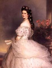 Portrait of Elisabeth, Empress of Austria by Franz Xaver Winterhalter
