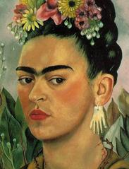 Self Portrait Dedicated to Dr Eloesser by Frida Kahlo