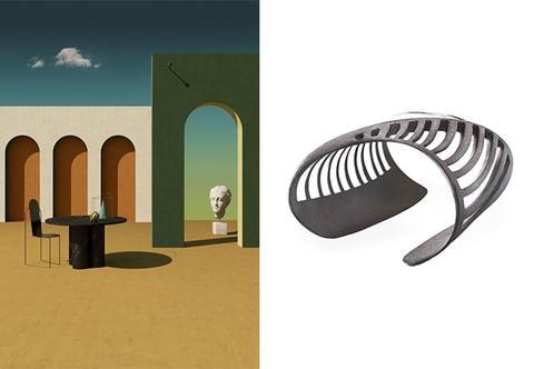 Giorgio de Chirico jewellery