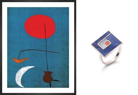 Joan Miro Jewellery