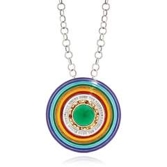 Somewhere Over The Rainbow Pendant Necklace
