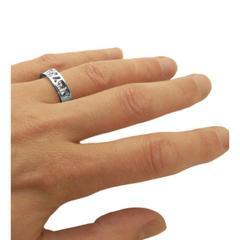 Cornish Seawater Wedding Ring