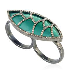 Bora Bora Double Ring2-Green