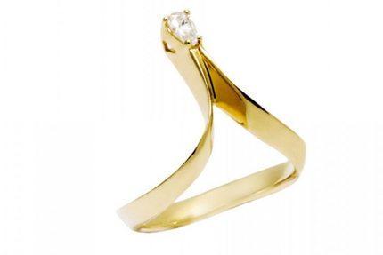 Photon Ring - White Diamond