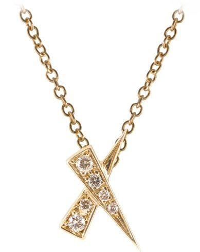 Kiss Diamond Pave Pendant