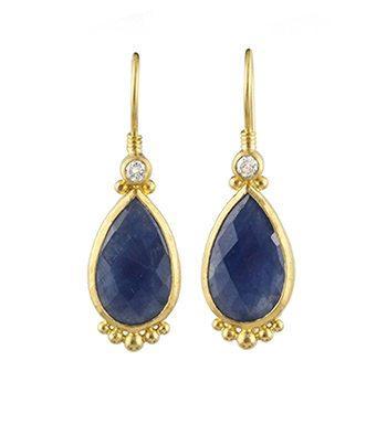 Elements Sapphire Earrings