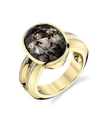 Sunset Tourmaline Ring